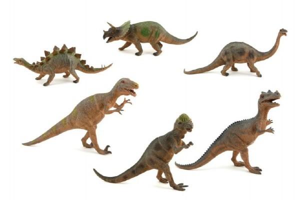 Teddies Dinosaurus plast 47cm asst 6 druhov v boxe