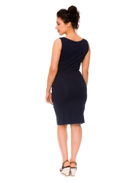 2-dielne tehotenské/dojčiace šaty Sia - granát