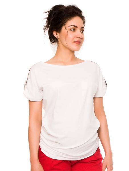 a464d91d2012 Tehotenské tričko Lia - biele