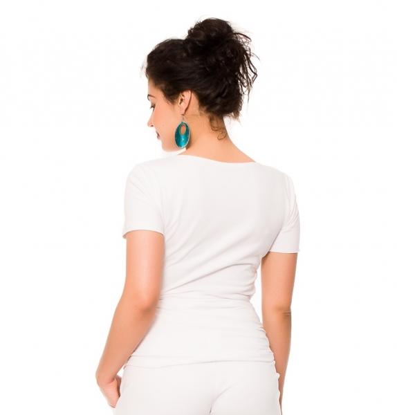 Tehotenské tričko Wonderful Life - biele