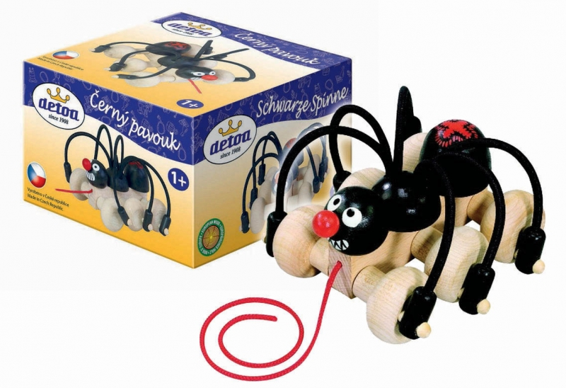 Rappa Pavouk tahací, drevený