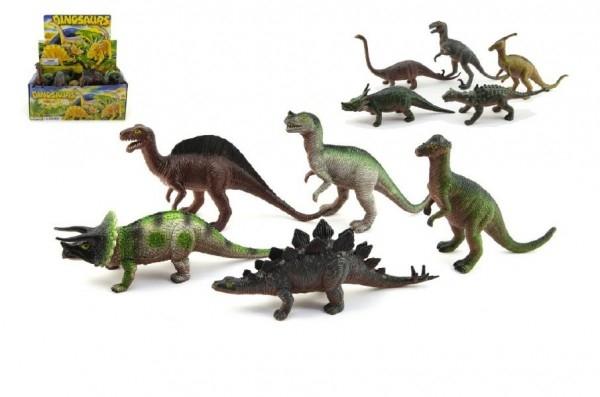 Teddies Dinosaurus plast 20cm asst 24ks v boxe