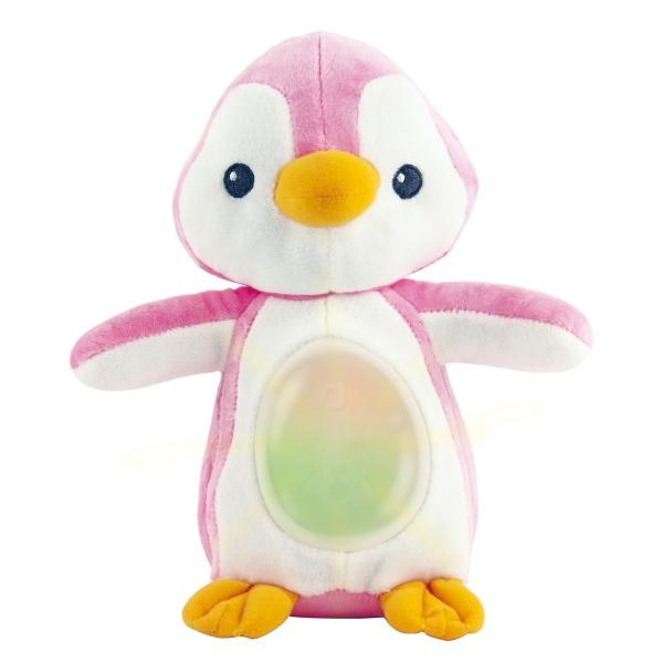 Smily Play Plyšový Uspávačik Tučniak - ružový