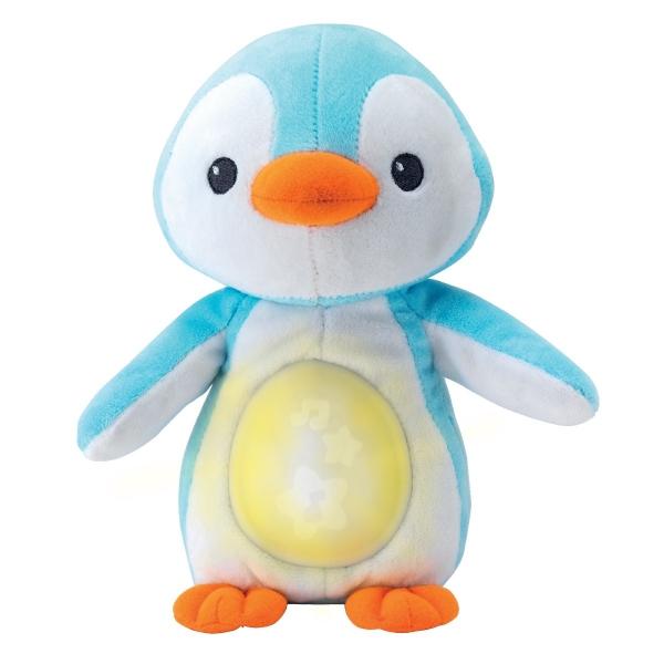 Smily Play Plyšový Uspávačik Tučniak - modrý