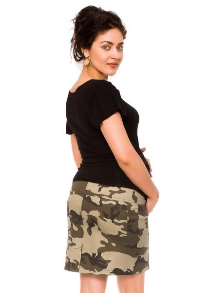 Tehotenská sukňa Camo - maskáčová