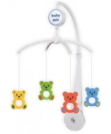 Kolotoč nad postieľku BABY MIX - Medvedíky