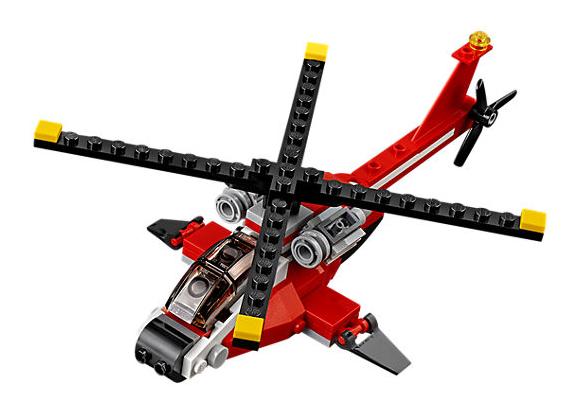 Lego Creator 3v1 - Prieskumná helikoptéra