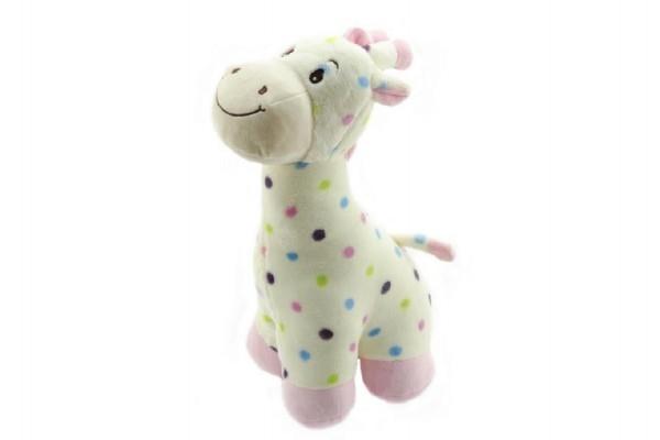 Teddies Žirafa plyš 40cm asst 2 farby v sáčku