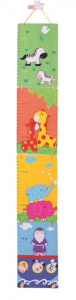 Detský skladací drevený meter - Noemova archa