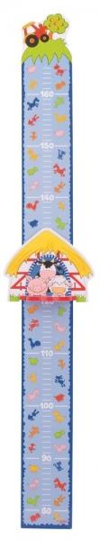 Goki Drevený detský meter - Farma