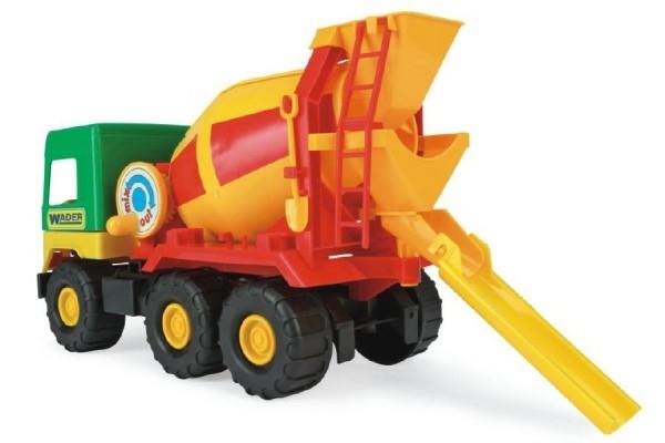 Auto middle Truck domiešavač plast 39cm Wader v sáčku