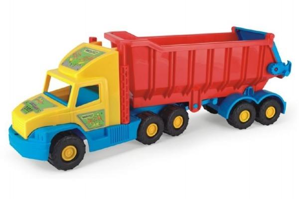 Auto Super Truck náves sklápěč plast 75cm v sieťke 12m + Wader