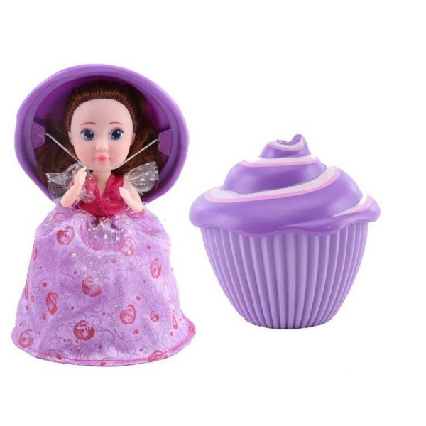 Bábika Cupcake-muffin s prekvapením