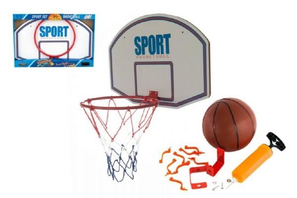 Basketbalový kôš s loptičkou kov 61cm v krabici