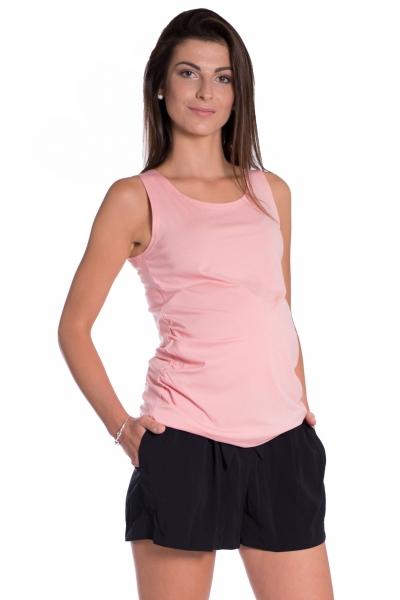 Top/tielko nielen pre tehotné - růžová-S/M