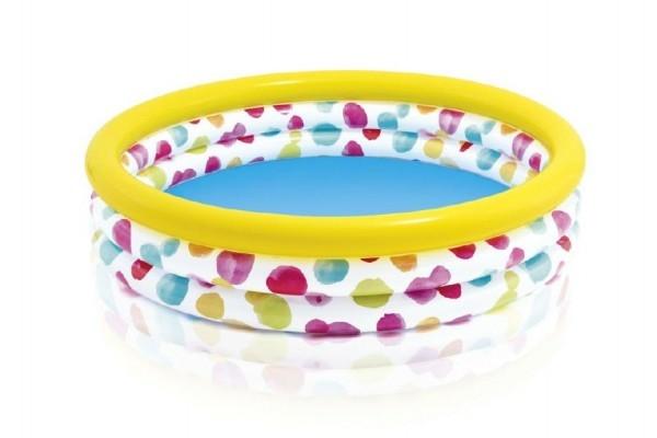 Bazén detský s bodkami nafukovacie 147x33cm 2+