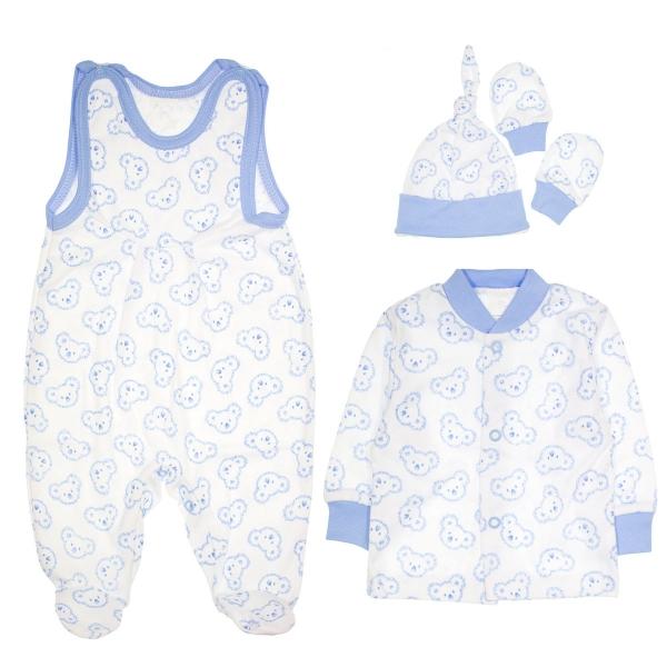 Súpravička do pôrodnice 4D - Koaly - modrá-56 (1-2m)