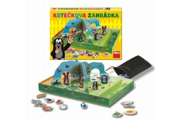 Teddies Krtkova záhradka spoločenská hra v krabici 33x23x4cm