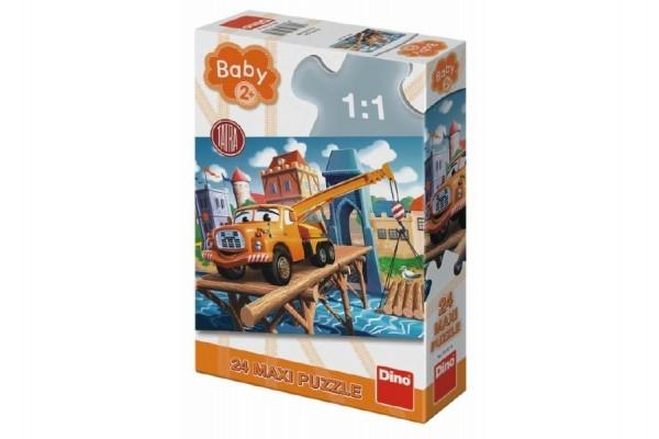Teddies Puzzle baby Tatra 66x47cm 24dílků v krabici 20x30x6,5cm