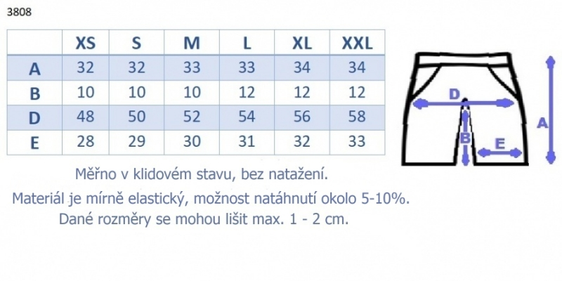 Be MaaMaa Tehotenské, bavlnené kraťasy s odpárateľným pásom - mäta, vel. S