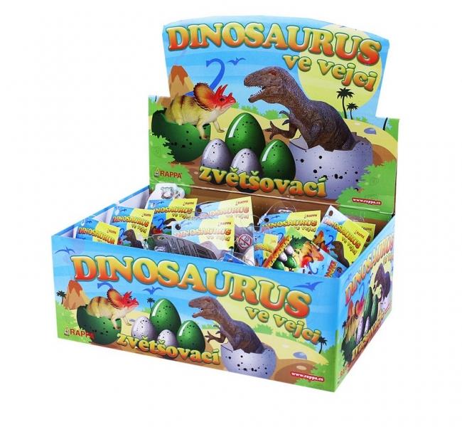 Rappa Dinosaurus rastúce vo vajci