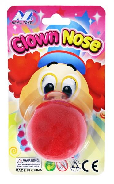 Nos klaun penový
