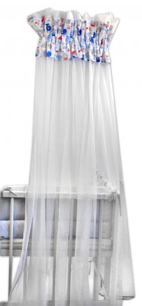 Baby Nellys Luxusná moskytiéra 170x400cm Oceán baby