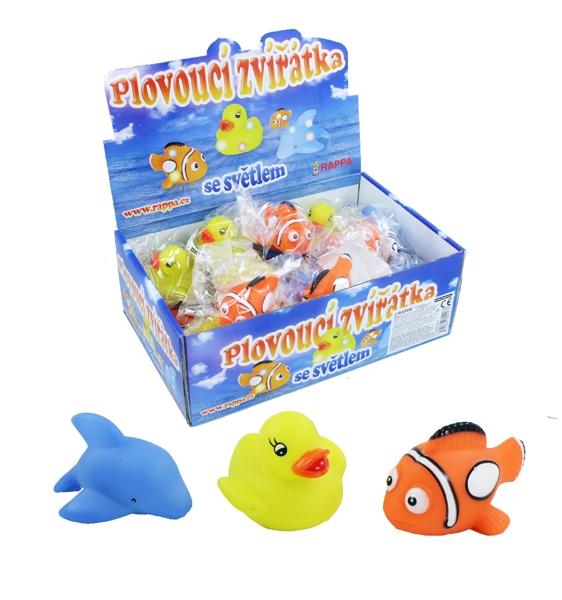 Rappa Zvieratá plávajúce so svetlom