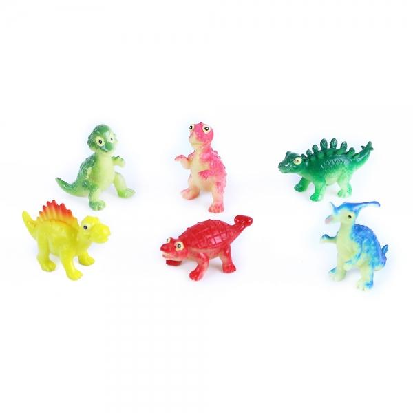 Rappa Dinosaury veselí, 6 ks v sáčku, 2 druhy