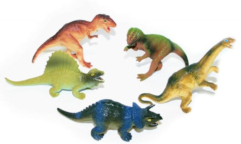 Rappa Dinosaury väčšie, 5 ks v sáčku