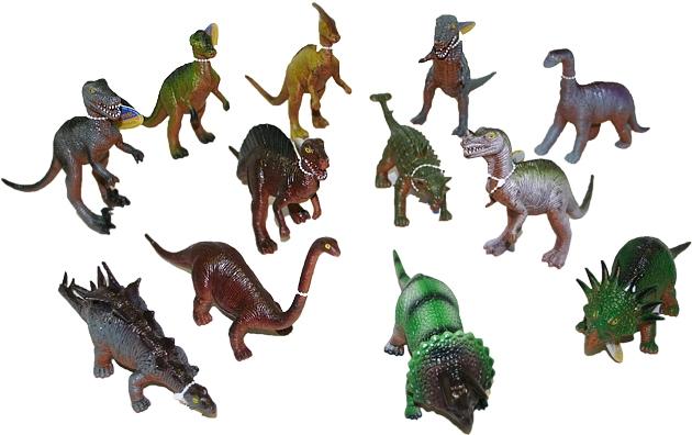 Rappa Dinosaurus 21 cm, 12 druhov