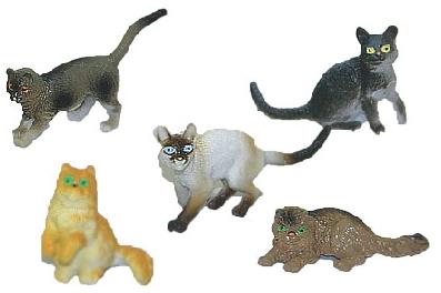 Rappa Mačky, 5 ks v sáčku