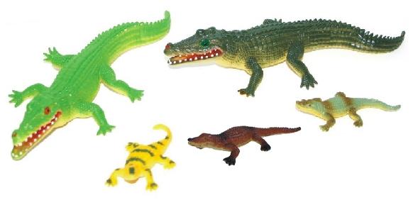 Rappa Krokodíly, 5 ks v sáčku
