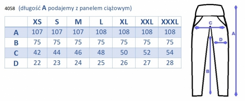 Be MaaMaa Tehotenské legíny s pásom a vreckami - granatove, vel´. XXXL, K19