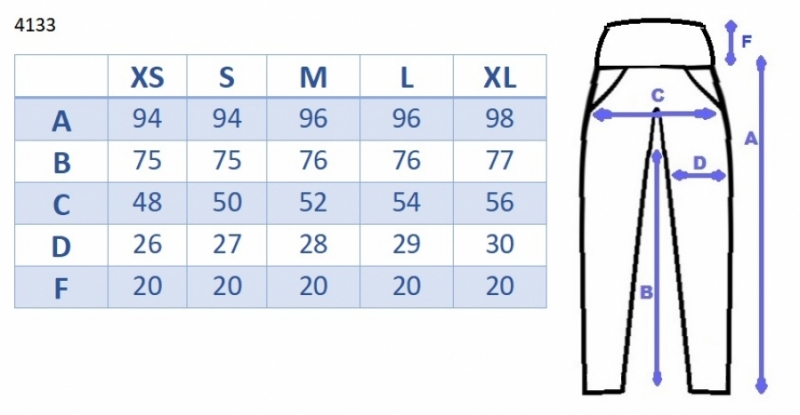 Tehotenské tepláky/nohavice slim - čierne