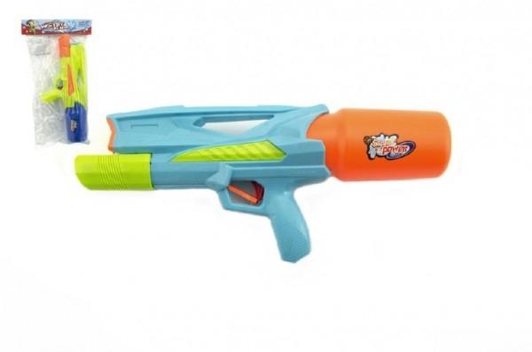 Teddies Vodné pištole plast 33cm asst 2 farby v sáčku
