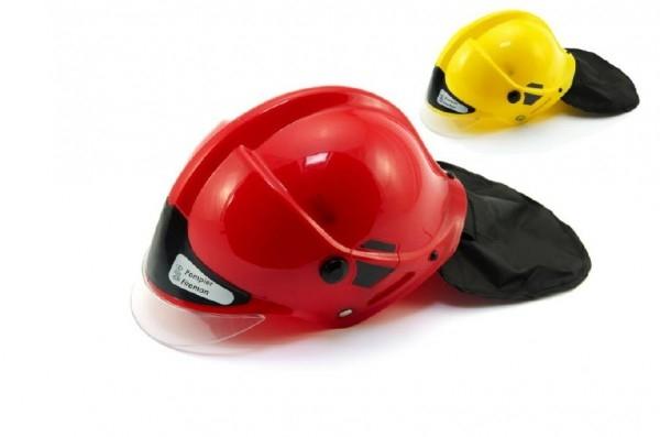 Teddies Helma prilba hasiči plast 27x16cm asst 2 farby