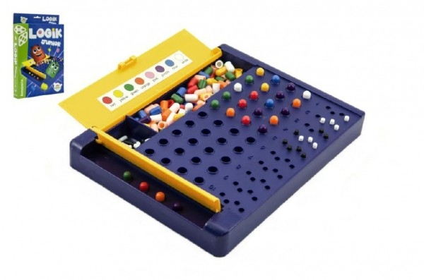 Teddies Logik junior spoločenská hra hlavolam v krabici 19,5x29x3,5cm