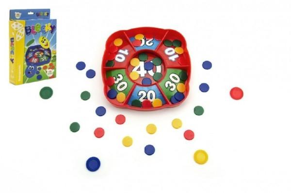 Blchy spoločenská hra v krabici 15x21x3,5cm