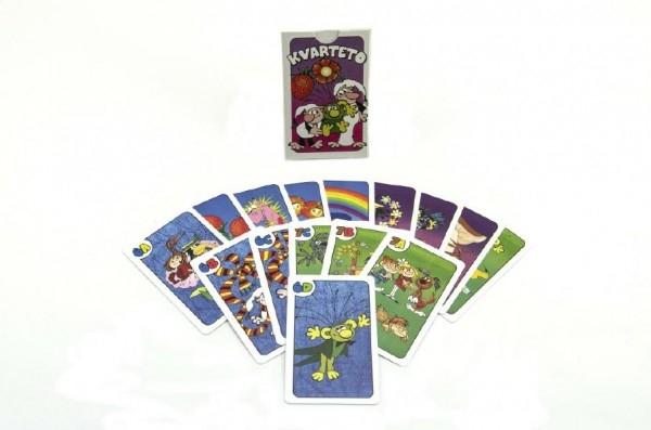 Kvarteto Poď s nami do rozprávky spoločenská hra - karty v papierovej krabičke 6x9x1,5cm