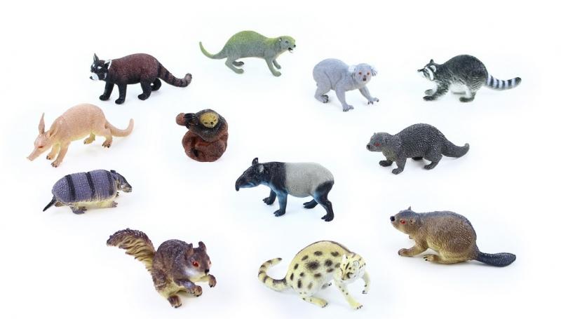 Rappa Zvieratá lesné 11 - 18 cm