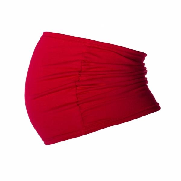 Be MaaMaa Těhotenský pás - červený, roz. L/XL-L/XL