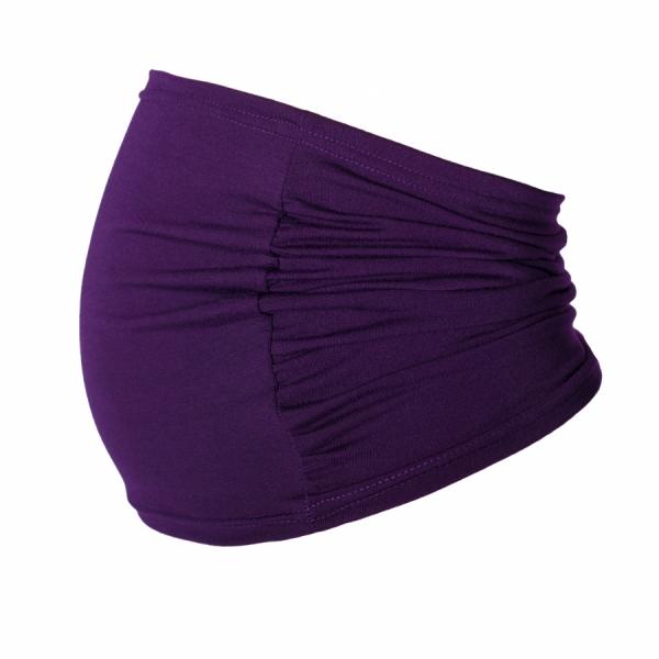 Be MaaMaa Těhotenský pás - fialový, vel´. L/XL