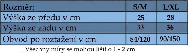 Be MaaMaa Těhotenský pás - zelený, vel´. L/XL