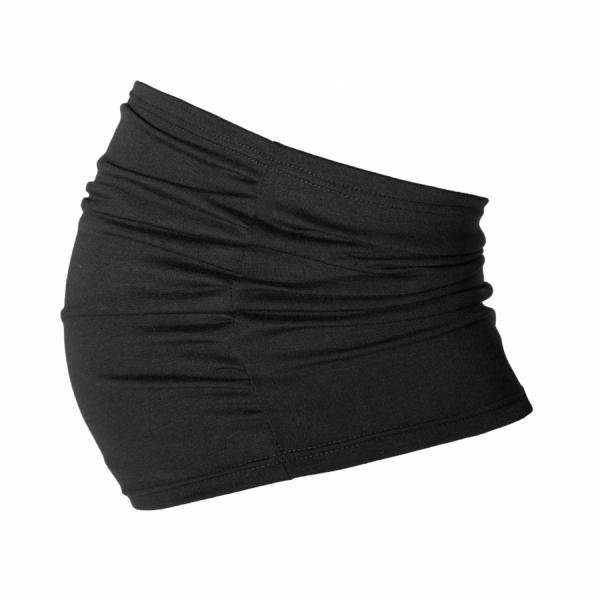 Tehotenský pás - čierny