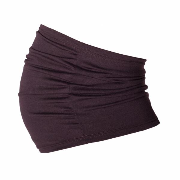 Be MaaMaa Těhotenský pás - hnědý, vel´. L/XL-L/XL