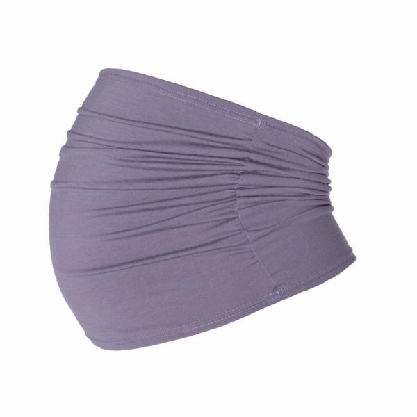 Be MaaMaa Těhotenský pás - šedý, vel´. L/XL-L/XL
