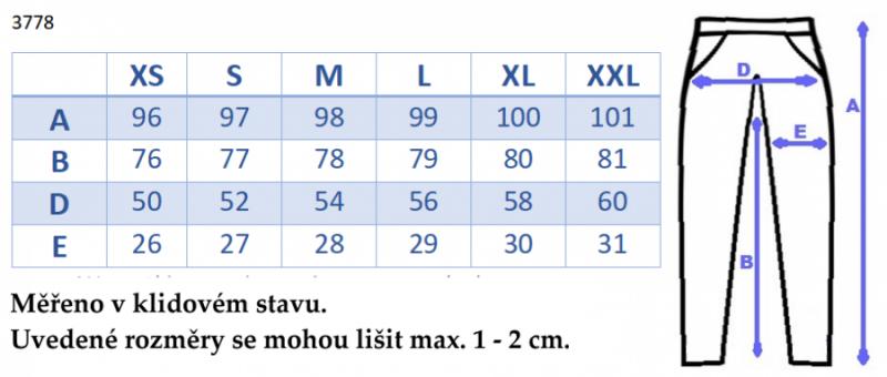 Be MaaMaa Moderné tehotenské tepláky s odnímateľným pásom - grafit, vel´. L