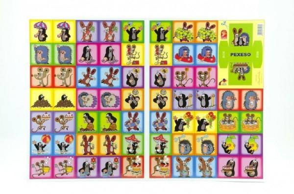Teddies Pexeso Krtko spoločenská hra 22x30cm