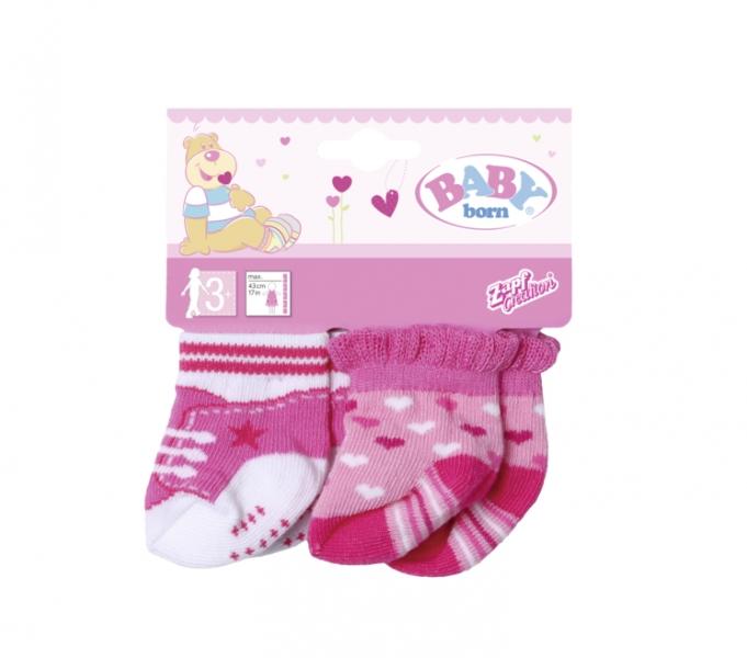 Zapf BABY born Ponožky (2 páry), 3 druhy